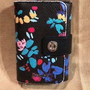 Desigual pvc floral print wallet